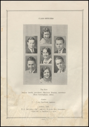 Page 9, 1931 Edition, Electra High School - Bengal Yearbook (Electra, TX) online yearbook collection