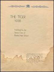 Page 3, 1938 Edition, Electra High School - Bengal Yearbook (Electra, TX) online yearbook collection
