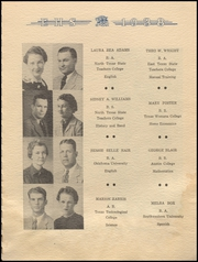 Page 9, 1938 Edition, Electra High School - Bengal Yearbook (Electra, TX) online yearbook collection