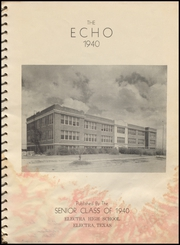 Page 5, 1940 Edition, Electra High School - Bengal Yearbook (Electra, TX) online yearbook collection