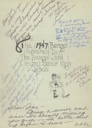 Page 5, 1947 Edition, Electra High School - Bengal Yearbook (Electra, TX) online yearbook collection