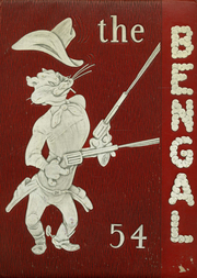 1954 Edition, Electra High School - Bengal Yearbook (Electra, TX)