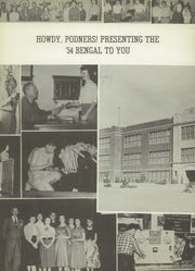 Page 6, 1954 Edition, Electra High School - Bengal Yearbook (Electra, TX) online yearbook collection