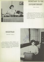 Page 8, 1954 Edition, Electra High School - Bengal Yearbook (Electra, TX) online yearbook collection