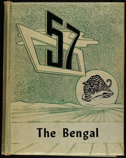 1957 Edition, Electra High School - Bengal Yearbook (Electra, TX)