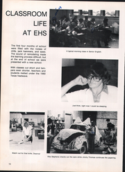 Page 14, 1981 Edition, Electra High School - Bengal Yearbook (Electra, TX) online yearbook collection