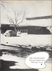 Page 5, 1955 Edition, McGregor High School - Bulldog Yearbook (McGregor, TX) online yearbook collection