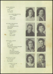 Page 17, 1948 Edition, George West High School - Longhorn Yearbook (George West, TX) online yearbook collection