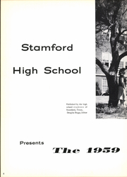 Page 12, 1959 Edition, Stamford High School - Bulldog Yearbook (Stamford, TX) online yearbook collection