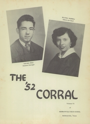 Page 7, 1952 Edition, Hebbronville High School - Corral Yearbook (Hebbronville, TX) online yearbook collection
