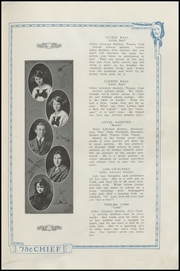 Page 15, 1923 Edition, Nocona High School - Chief Yearbook (Nocona, TX) online yearbook collection