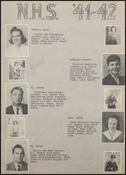 Page 11, 1942 Edition, Nocona High School - Chief Yearbook (Nocona, TX) online yearbook collection