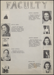 Page 12, 1942 Edition, Nocona High School - Chief Yearbook (Nocona, TX) online yearbook collection