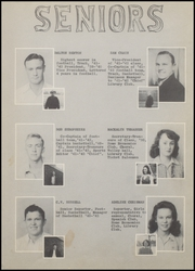 Page 13, 1942 Edition, Nocona High School - Chief Yearbook (Nocona, TX) online yearbook collection
