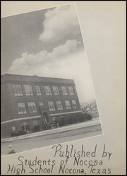 Page 7, 1942 Edition, Nocona High School - Chief Yearbook (Nocona, TX) online yearbook collection