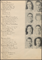 Page 13, 1944 Edition, Nocona High School - Chief Yearbook (Nocona, TX) online yearbook collection