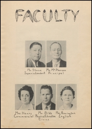 Page 9, 1944 Edition, Nocona High School - Chief Yearbook (Nocona, TX) online yearbook collection