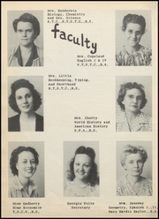 Page 12, 1946 Edition, Nocona High School - Chief Yearbook (Nocona, TX) online yearbook collection