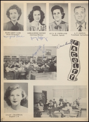 Page 10, 1949 Edition, Nocona High School - Chief Yearbook (Nocona, TX) online yearbook collection