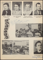 Page 11, 1949 Edition, Nocona High School - Chief Yearbook (Nocona, TX) online yearbook collection