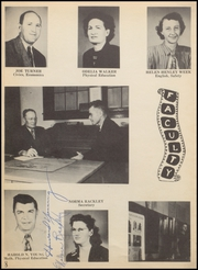 Page 12, 1949 Edition, Nocona High School - Chief Yearbook (Nocona, TX) online yearbook collection