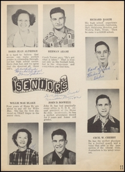 Page 15, 1949 Edition, Nocona High School - Chief Yearbook (Nocona, TX) online yearbook collection
