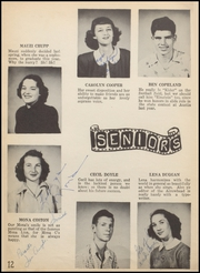 Page 16, 1949 Edition, Nocona High School - Chief Yearbook (Nocona, TX) online yearbook collection