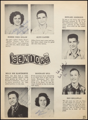 Page 17, 1949 Edition, Nocona High School - Chief Yearbook (Nocona, TX) online yearbook collection