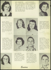 Page 11, 1953 Edition, Nocona High School - Chief Yearbook (Nocona, TX) online yearbook collection
