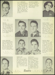 Page 13, 1953 Edition, Nocona High School - Chief Yearbook (Nocona, TX) online yearbook collection