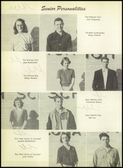 Page 16, 1953 Edition, Nocona High School - Chief Yearbook (Nocona, TX) online yearbook collection