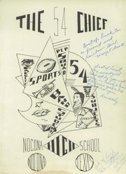 Page 5, 1954 Edition, Nocona High School - Chief Yearbook (Nocona, TX) online yearbook collection