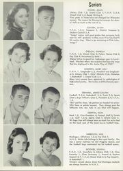 Page 14, 1956 Edition, Nocona High School - Chief Yearbook (Nocona, TX) online yearbook collection