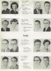 Page 8, 1956 Edition, Nocona High School - Chief Yearbook (Nocona, TX) online yearbook collection
