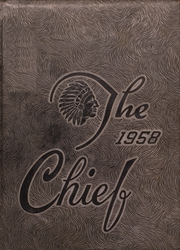 Nocona High School - Chief Yearbook (Nocona, TX) online yearbook collection, 1958 Edition, Page 1