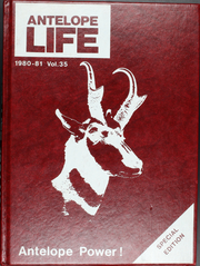 1981 Edition, Abernathy High School - Antelope Life Yearbook (Abernathy, TX)