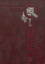 Page 1, 1931 Edition, Olney High School - Cub Yearbook (Olney, TX) online yearbook collection