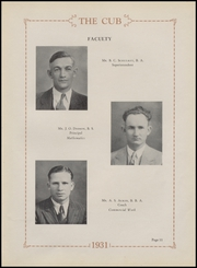 Page 15, 1931 Edition, Olney High School - Cub Yearbook (Olney, TX) online yearbook collection