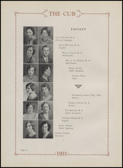 Page 16, 1931 Edition, Olney High School - Cub Yearbook (Olney, TX) online yearbook collection