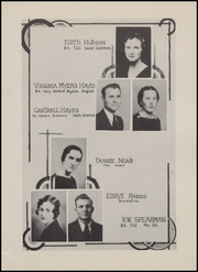 Page 13, 1936 Edition, Olney High School - Cub Yearbook (Olney, TX) online yearbook collection