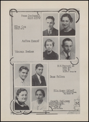 Page 17, 1936 Edition, Olney High School - Cub Yearbook (Olney, TX) online yearbook collection