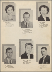 Page 15, 1951 Edition, Olney High School - Cub Yearbook (Olney, TX) online yearbook collection