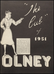 Page 5, 1951 Edition, Olney High School - Cub Yearbook (Olney, TX) online yearbook collection
