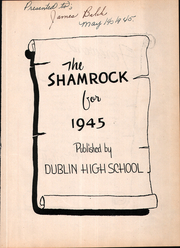 Page 7, 1945 Edition, Dublin High School - Shamrock Yearbook (Dublin, TX) online yearbook collection