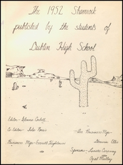 Page 5, 1952 Edition, Dublin High School - Shamrock Yearbook (Dublin, TX) online yearbook collection