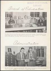 Page 9, 1959 Edition, Dublin High School - Shamrock Yearbook (Dublin, TX) online yearbook collection
