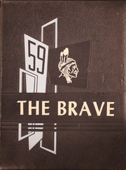 1959 Edition, Community High School - Brave Yearbook (Nevada, TX)