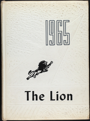 Page 1, 1965 Edition, Kenedy High School - Lion Yearbook (Kenedy, TX) online yearbook collection
