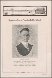 Page 15, 1918 Edition, Canadian High School - Beargrass Yearbook (Canadian, TX) online yearbook collection