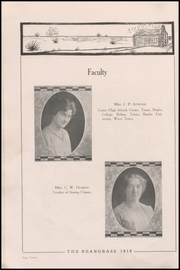 Page 16, 1918 Edition, Canadian High School - Beargrass Yearbook (Canadian, TX) online yearbook collection